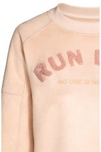 Sweatshirt - Powder - Ladies | H&M 3